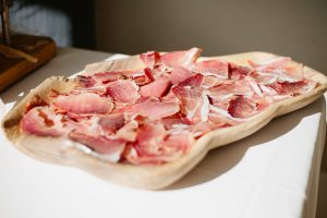wedding food cold cuts