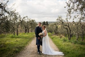 scottish couple getting married in Tuscany