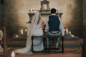 irish catholic Wedding in Tuscany