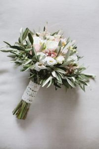 olive branches bouquet