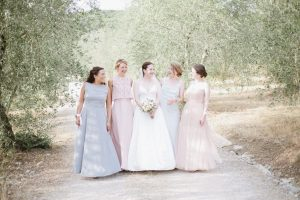 lovely olive yard wedding in Tuscany