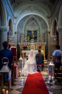 catholic church wedding in Radda