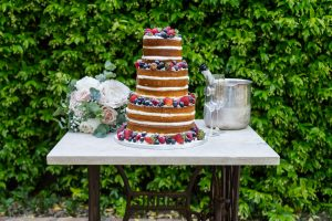 extraordinary naked cake