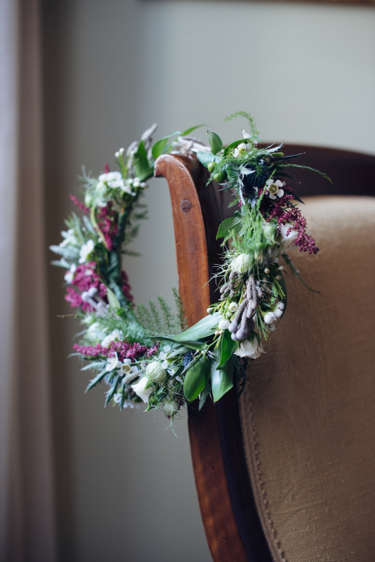 colourful wedding palette in tuscany