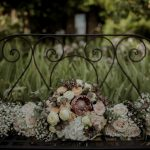 tuscan bouquets for a colorful wedding palette
