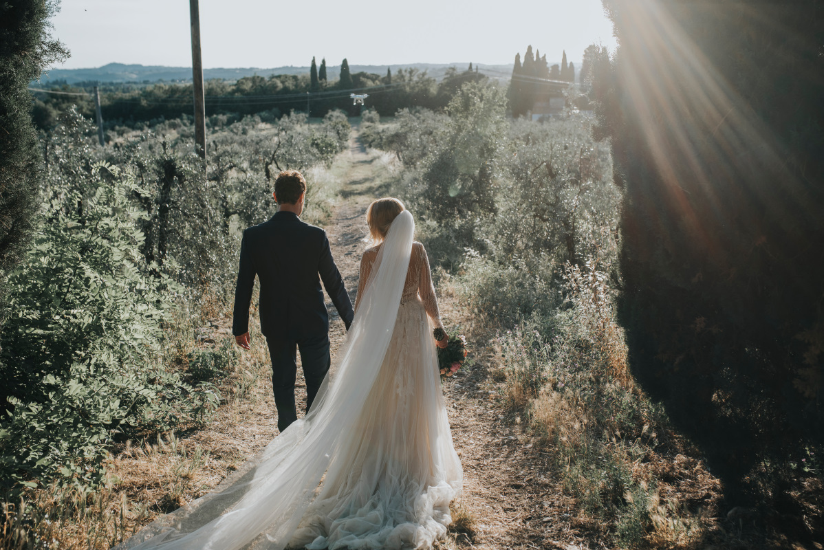 whimsical wedding in Tuscany - wedding venue in Tuscany