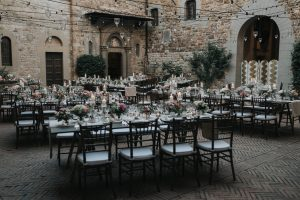 whimsical wedding in Tuscany