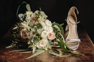 family wedding in Florence - wedding shoes