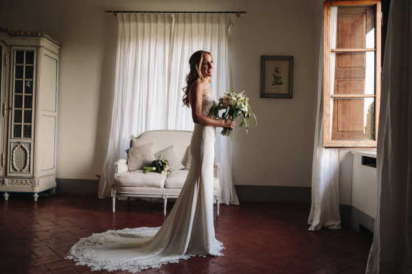 family wedding Florence - bridal gowns