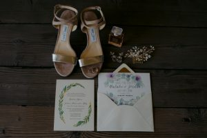 Jewish wedding in Tuscany - jimmy choo wedding shoes