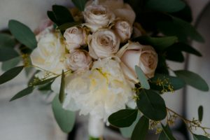 Jewish wedding in Tuscany - bridal bouquet romantic style