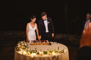 A romantic wedding in Chianti - italian wedding cake