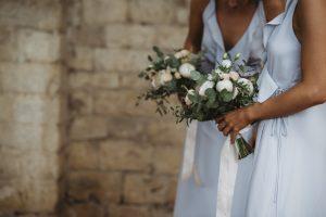 A romantic wedding in Chianti - bridesmaids bouquets