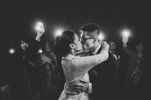 couple first dance - dream wedding in San Gimignano