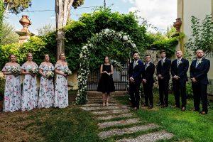 Garden wedding Florence - wedding celebration in tuscany