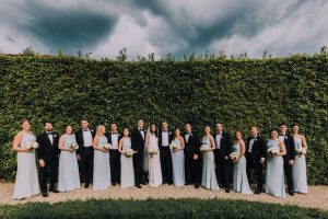 Classy wedding in florence - bridal party and groomsmen