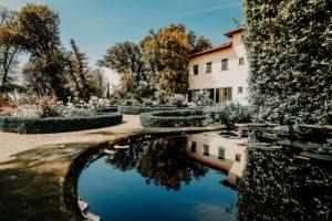 Classy wedding in florence - italian gardens of villa