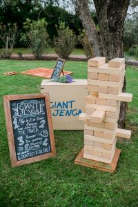 wedding lawn games - Jenga 2 Wed in Florence -