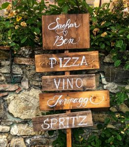 wedding signs - Wedding Spirito Toscano 3 Multiple Signs Spirito Toscano 2 - INTERNET