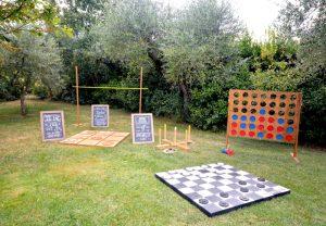 wedding lawn games - Set 4 Games -