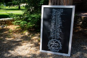 wedding signs - Tuscan Wedding Big Blackboars Spirito Toscano NL 6