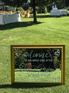 wedding signs -  Tuscan Wedding Specchio Spirito Toscano NL 10