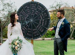 wedding lawn games - Wheel of Fun_Spirito Toscano