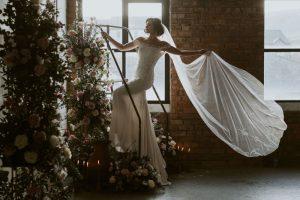 wedding veils - Full Lace Edge Wedding Veils Rosemary
