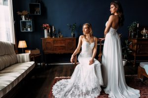 About Adelamour Bridal Shop - boho wedding gown - This full lace overlay dress featuring open back and sweetheart shape front neckline