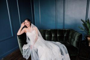 About Adelamour Bridal Shop - boho wedding gown - bridal shooting - tulle layer wedding dress Khaleesi