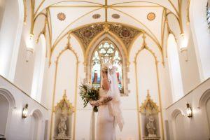 Romina Fochesatto - custom wedding gown -