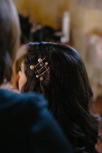 sparkling destination wedding - pearl bobby pins from Jennifer Behr