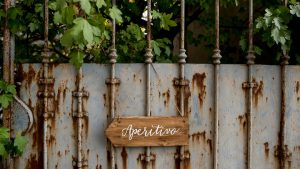 wooden wedding signs - calligraphy  sign to help guests
