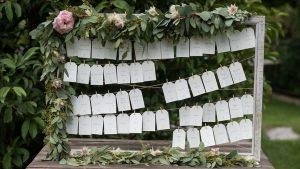 wooden wedding signs -