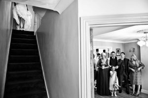 family photos - Bruno Rosa Ph - entrance of the bride with steps