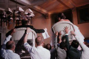 wed in florence - romantic Jewish wedding - jewish dances horah