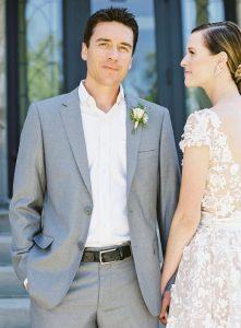 wedding suit - Pale Blue Regular groom Fit Suit