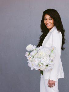 wedding suit - white bridal tuxedo