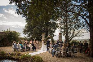 Scottish wedding - Wed in Florence - simbolic ceremony in the italian garden