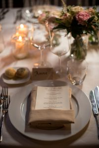 Scottish wedding - Wed in Florence  - table scape for a glamorous table