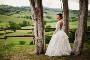 chinese wedding tuscany - wed in florence - bridal portraits in tuscany