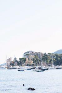 seaside wedding Italy - santa margherita ligure view