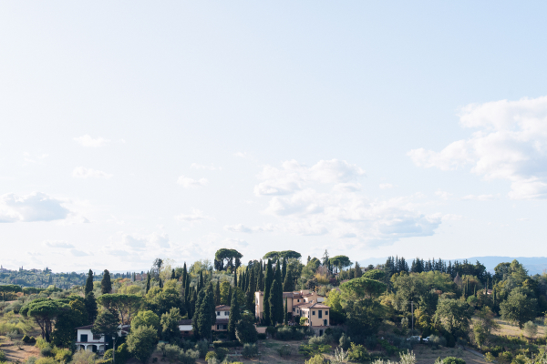 simple wedding - florence countryside